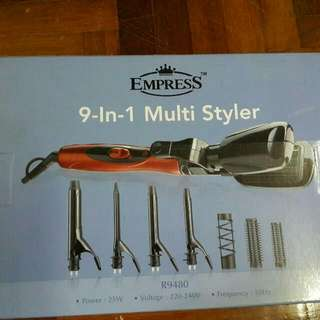 Hair Iron/Curler (Reserved)