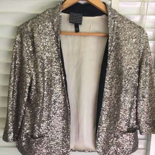 All about Eve Sequin Jacket - Size 6