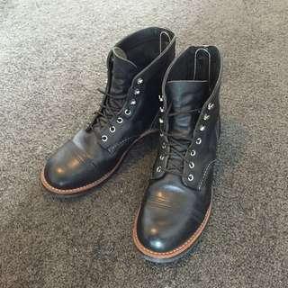 RedWing Iron Ranger Boots