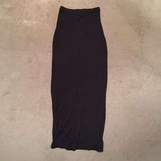 H&M Slinky Maxi Skirt (S)