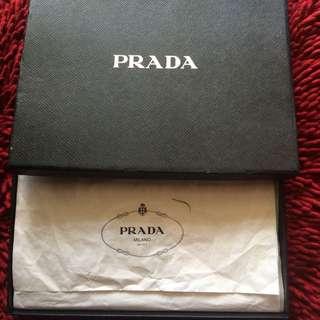 Authentic PRADA Ipad Cover (red)