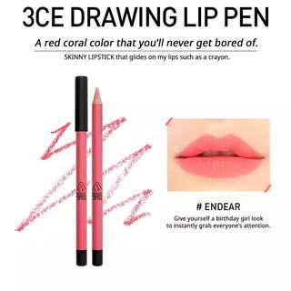 Auth 3CE Drawing Lip Pen