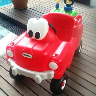 **Reserved With Payment**Preloved Little Tikes Fire Engine