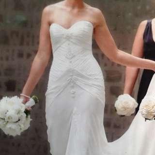 Baccini And Hill Wedding Dress