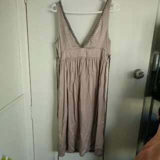 Morrissey Silk Dress Sz 2 (10-12)