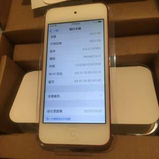 ipod touch6  RED 64g