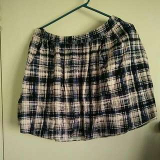 Sz 12 Portmans Tweed Print Skirt