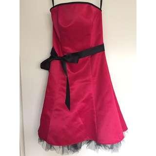 Jessica McClintock For Gunne Sax Pink Sleeveless Dress - Size 6