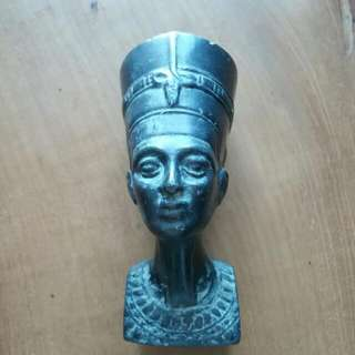Statue Head Egyptian artifact 959g Heavy