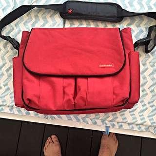 Skip Hop Baby Bag With Change Mat