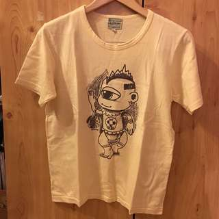 Yellow T-Shirt With Alien Print