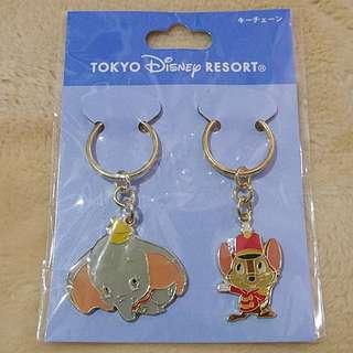 日本東京迪士尼樂園限定《小飛象》吊飾