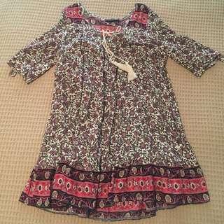 princess Polly boho tunic dress