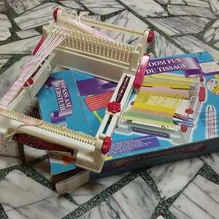 萬能編織機 孩子大人的手工藝玩具 附毛線球幾顆