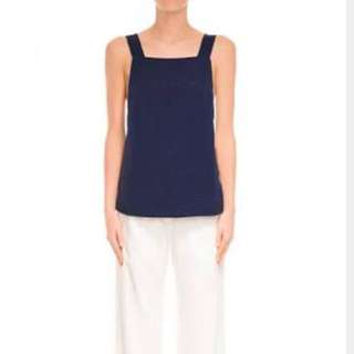 Finders Keepers Young Spirit Navy Tank Top - Size S