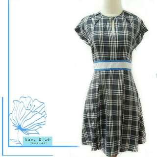 Solemio Burberry Look Alike Dress