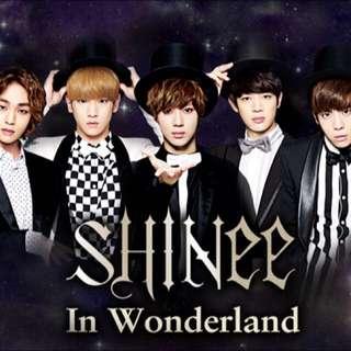 SHINee In Wonderland 收藏卡
