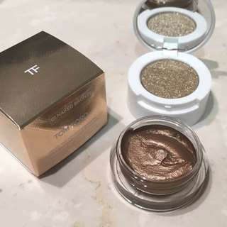 TOM FORD Cream and Powder Eye Color in 01 Naked Bronze Makeup Cosmetics Eyeshadow
