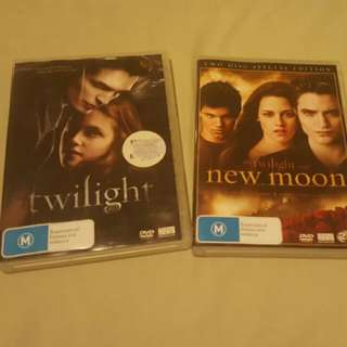 Twilight And New Moon Both As A Set