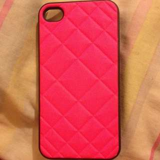 Pretty Pink iPhone 4/4s Hard Case