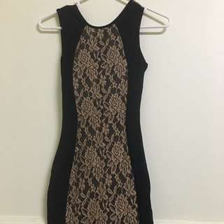 1 & 20 Blackbirds Lace Tube Dress