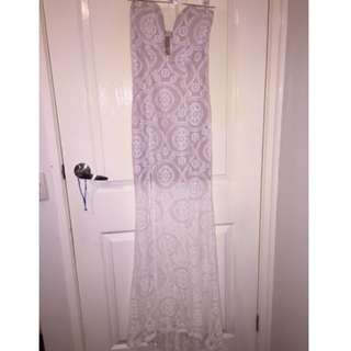 Brand New Cream Lace Dress Size 8