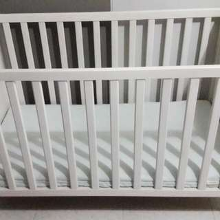 IKEA Baby Cot (Preloved) - Reserved