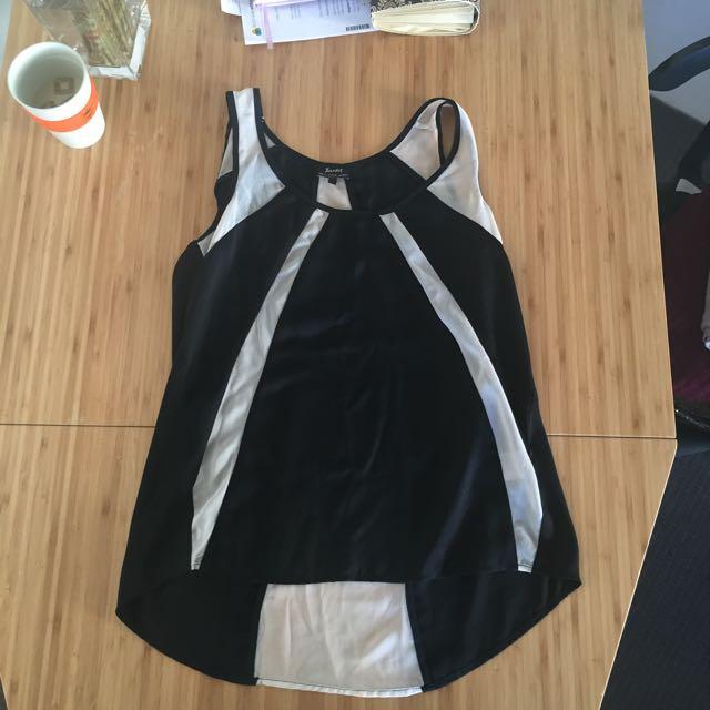 Bardot Blouse Cami Size S 8-10