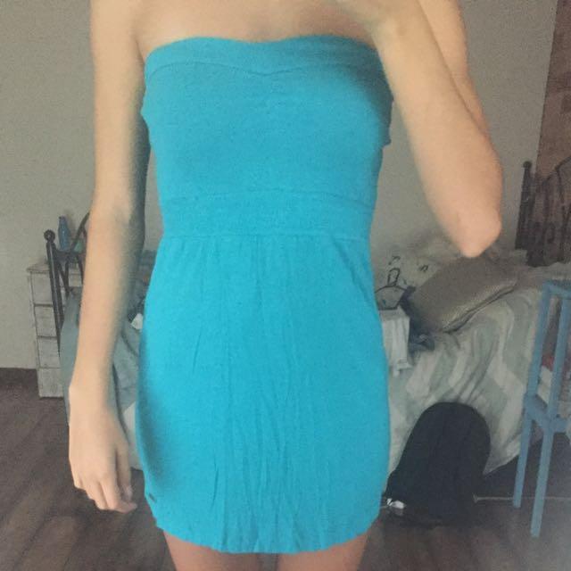 Blue Billabong Dress