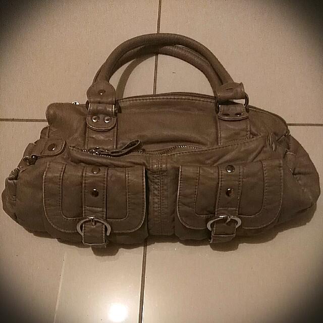 Bluebird Soft Tan Handbag
