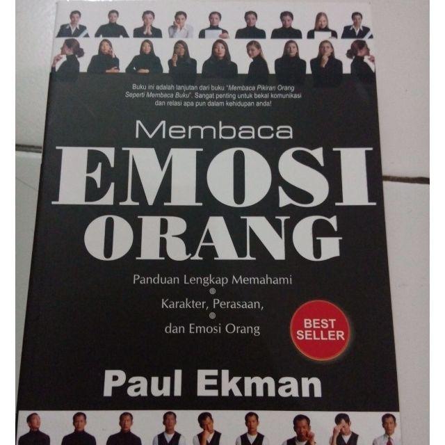 Buku best seller Membaca Emosi Orang