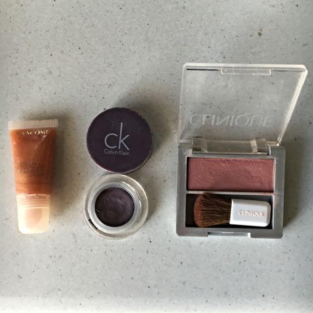 Calvin Klein, Clinique, Lancôme