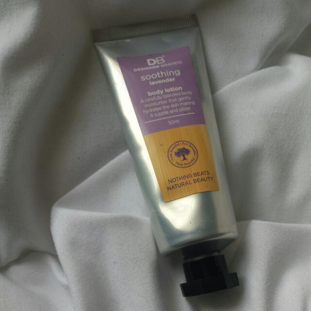 DB Cosmetics Soothing Lavender Body Lotion