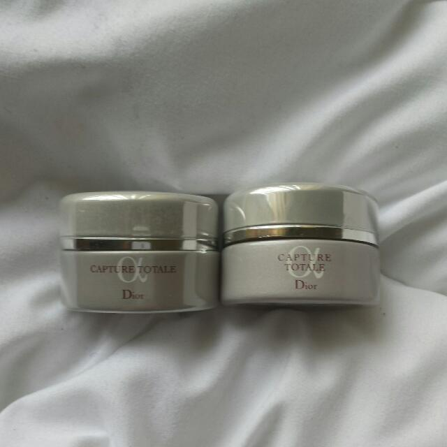 Dior Capture Totale Face And Throat Multi Perfection Creme Travel Size