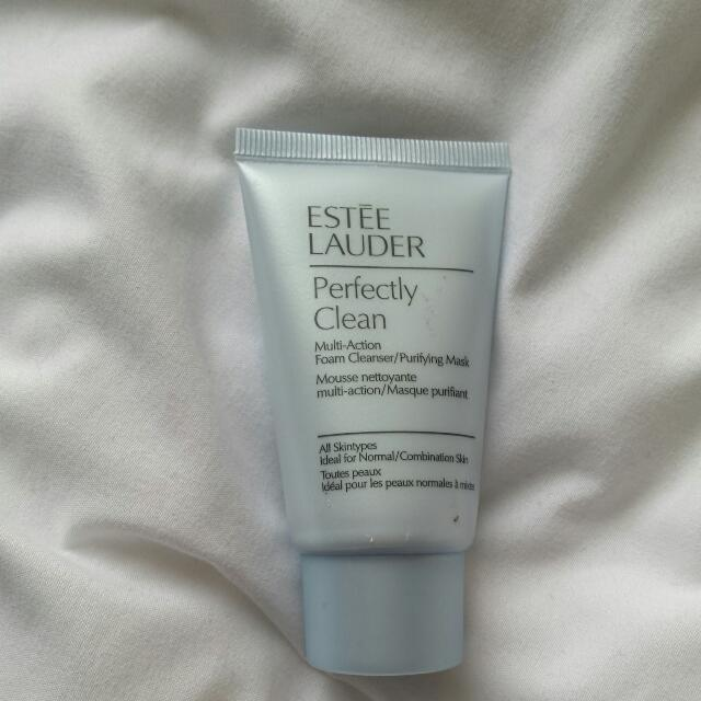 Estee Lauder Perfectly Clean Multi Action Foam Cleanser Purifying Mask