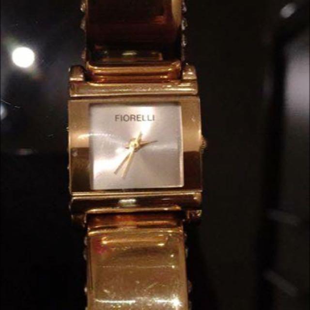 Gold Fiorelli Watch