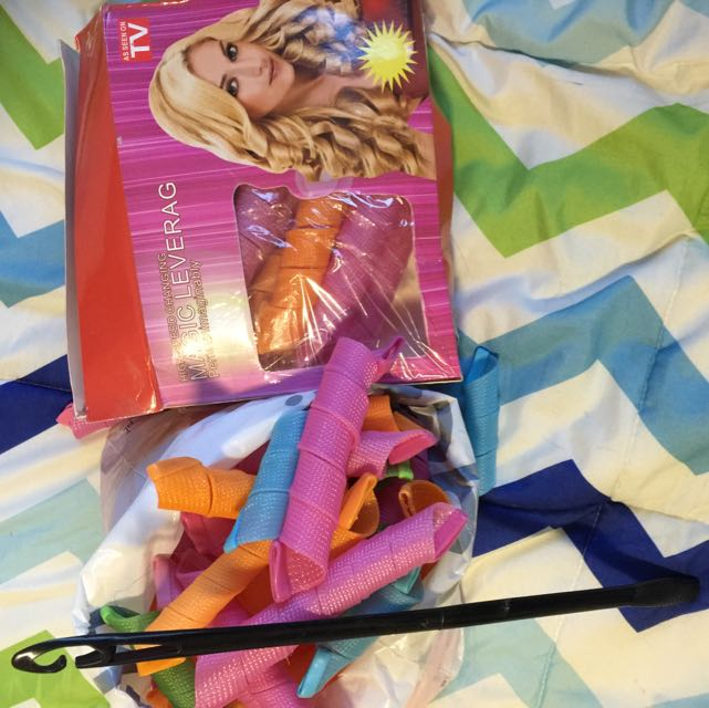 Hair Curler (Without Heat) Magic Leverag