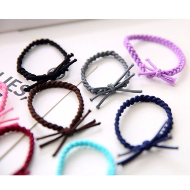 [Hair-tie] Colorful Basic Hair-ties