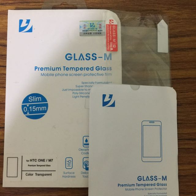 Htc One/m7螢幕玻璃保護貼
