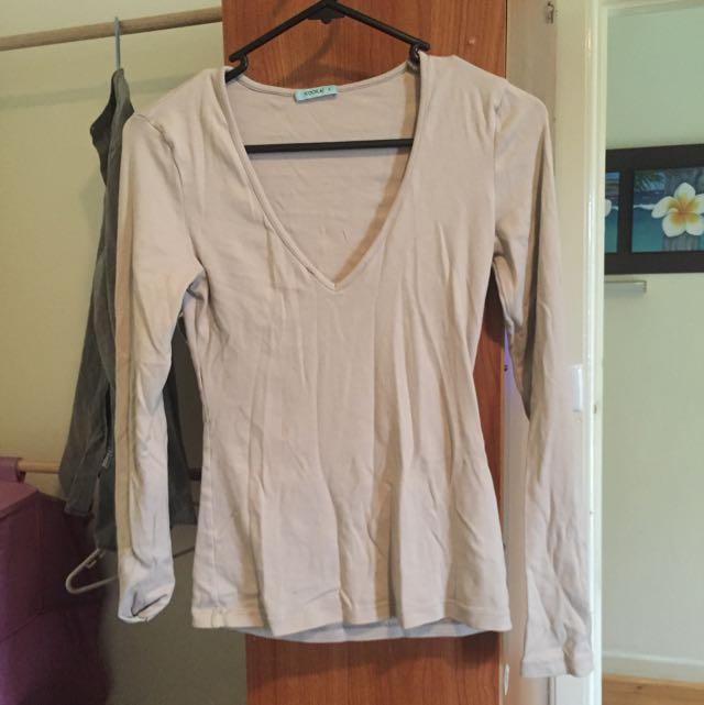 Kookai Long Sleeve Shirt