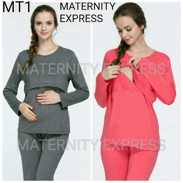 07d757d88f7f6 Long Sleeve Maternity Top Nursing Top Can Use As Confinement ...