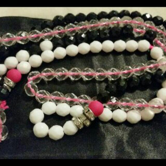 Mimco Pink Serene Necklace