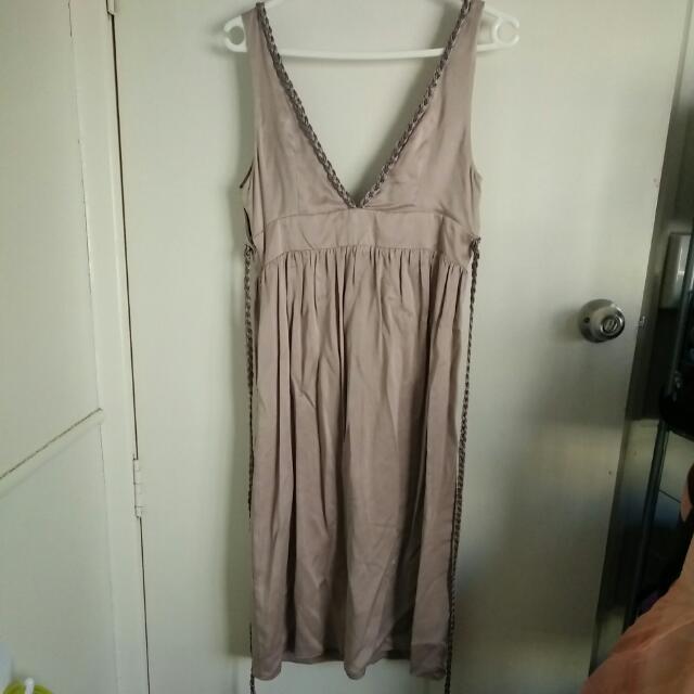 Morrissey Silk Dress Sz 2 (10-12)