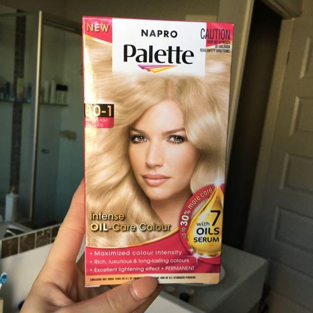 Napro Palette Blonde Hair Dye