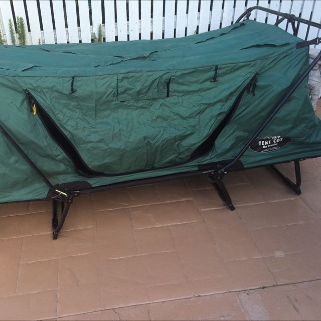 Oversized Tent Cot