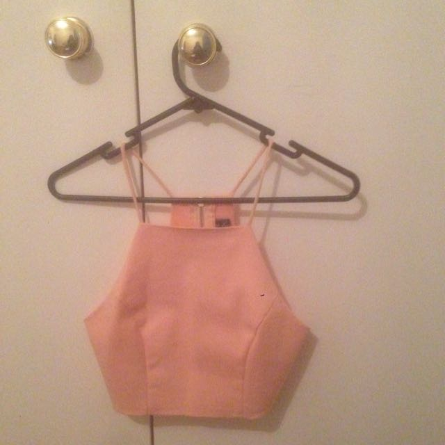 Pink Party Crop Top
