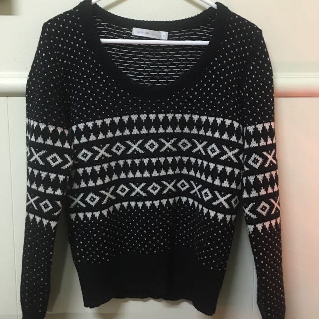 Quirky Circus Knitted Jumper