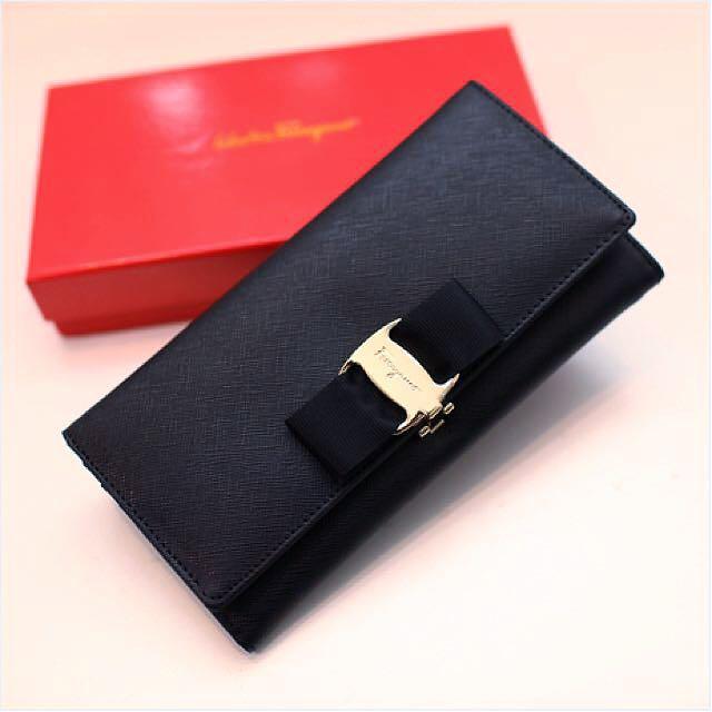 Vara Continental wallet Salvatore Ferragamo VOEqodYz