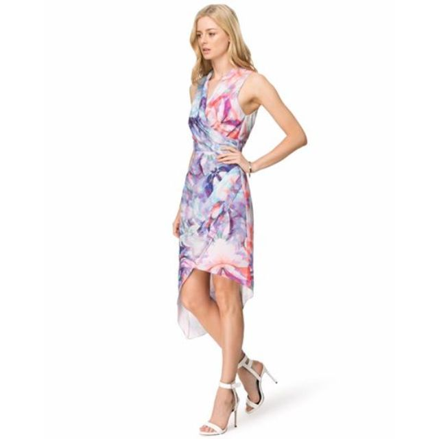 SEDUCE Azalea Wrap Dress