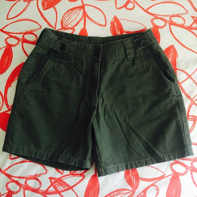 Size 8 Green Shorts